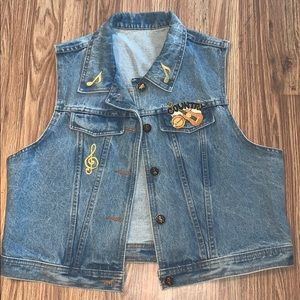 Vintage country music vest